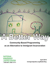 "Cover image for NIJC report ""A Better Way"""
