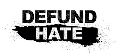 Defund Hate logo