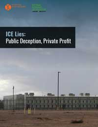ICE Lies report cover