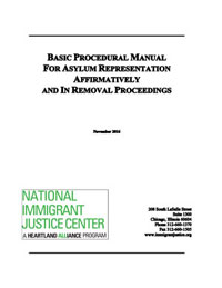 Procedural manual for asylum representation national immigrant appendix of sample forms and documents altavistaventures Image collections